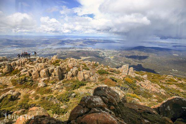 【荷巴特景點】里奇蒙小鎮、Hobart市區薩拉曼卡市集、威靈頓山