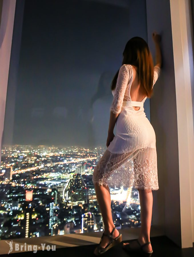 曼谷王權Mahanakhon SkyWalk觀景台
