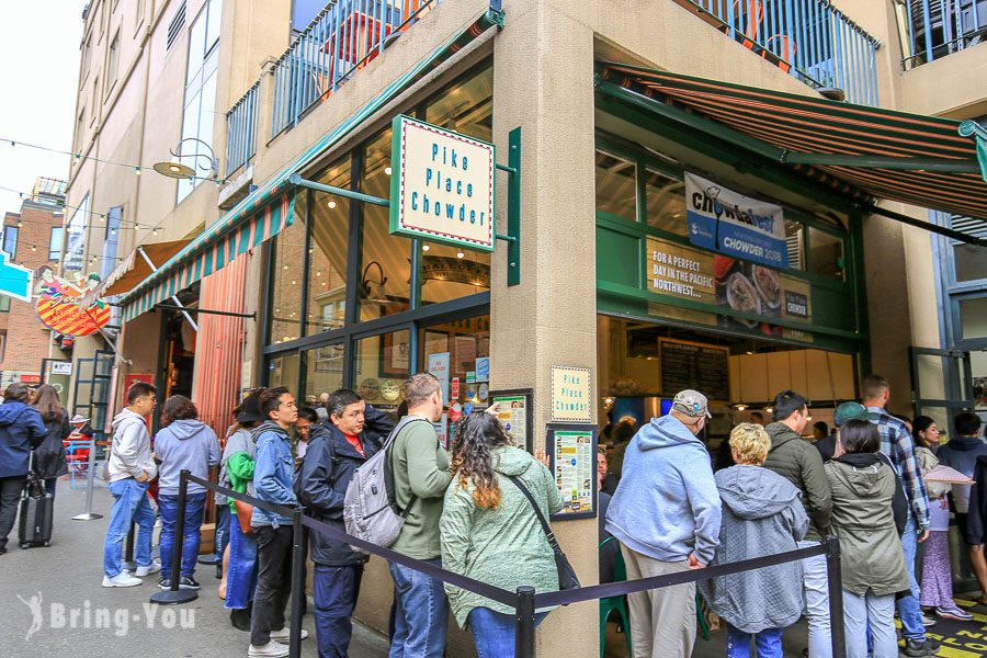 西雅圖派克市場Pike Place Market