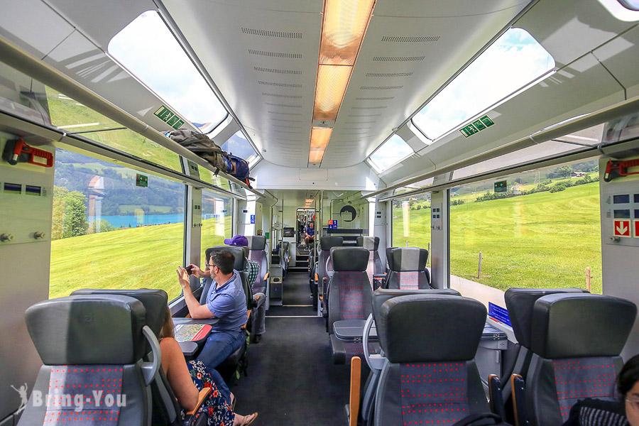 【瑞士景觀列車】黃金列車Golden Pass Line:穿梭琉森、因特拉肯、蒙特勒的精華火車路線