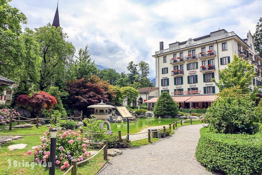 【因特拉肯 Interlaken】瑞士小鎮茵特拉肯一日遊遊記,韓劇《愛的迫降》景點盤點