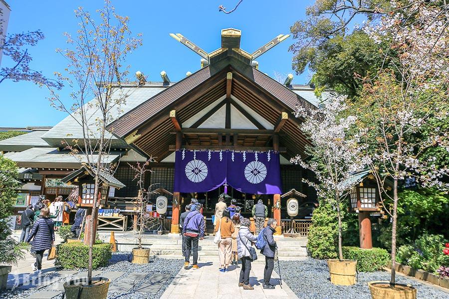 【神樂坂景點】東京大神宮,東京戀愛神社,尋找愛情單身女子必參拜