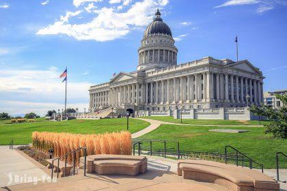 【美國猶他州Utah】鹽湖城一日遊景點,走訪摩門教聖殿、大鹽湖
