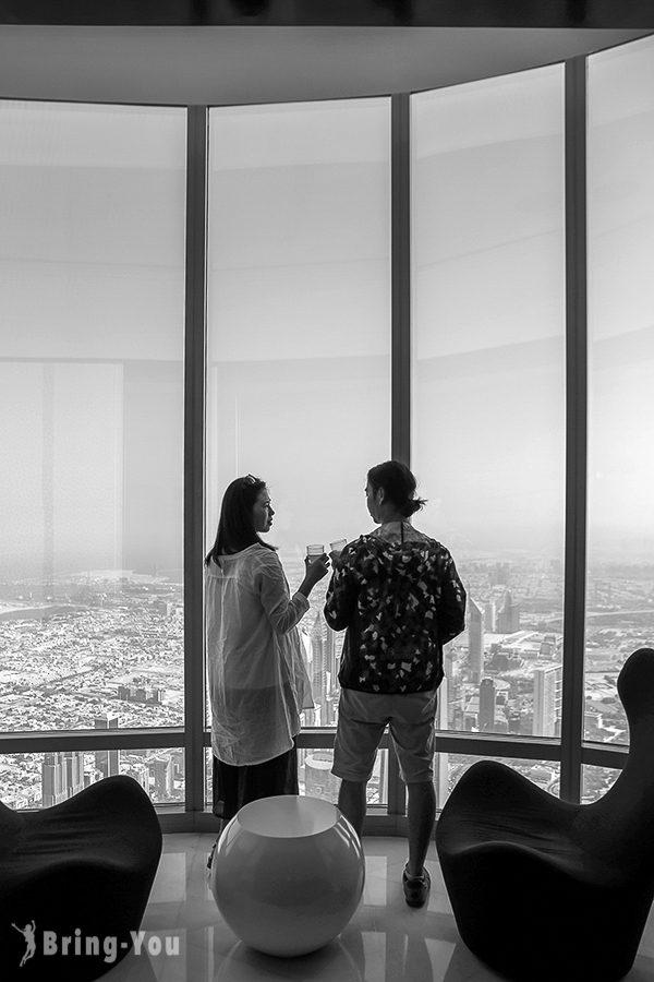 杜拜哈里發塔觀景台