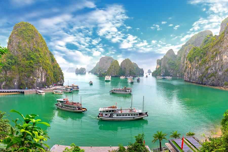 【越南自由行攻略】如何安排越南行程,越南景點介紹:北、中、南越應該選哪裡玩?