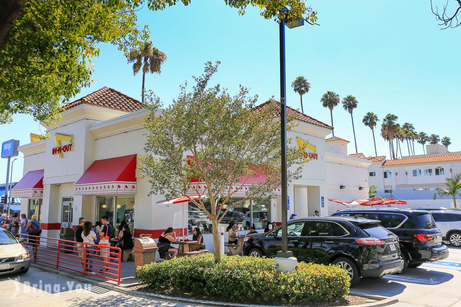 【美國洛杉磯】In-N-Out Burger,加州人超愛的漢堡隱藏菜單介紹(好萊塢星光大道店)