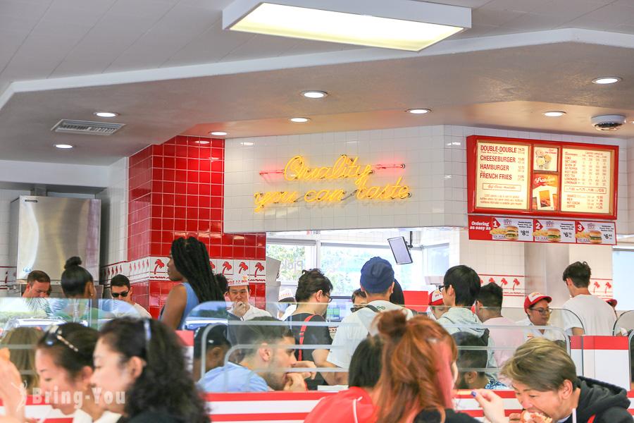 洛杉磯 In-N-Out Burger