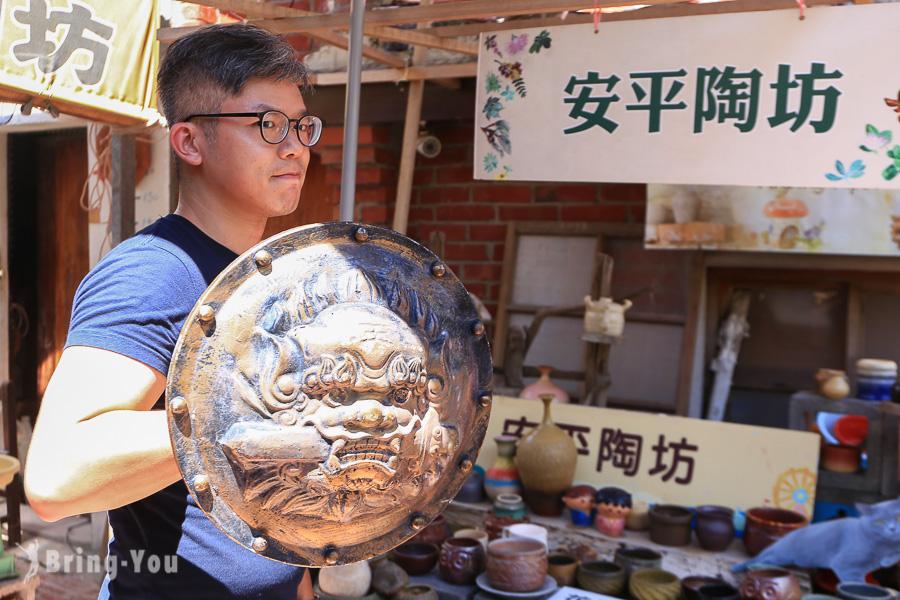 【台南親子手作體驗】來安平陶坊讓陶藝大師教你做手拉坯&彩繪劍獅DIY