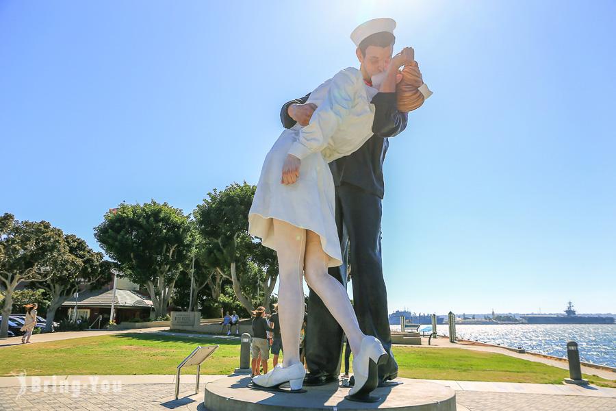 【聖地牙哥景點】San Diego市區一日遊行程建議:煤氣燈街區、海港村、中途島博物館、巴爾波亞公園