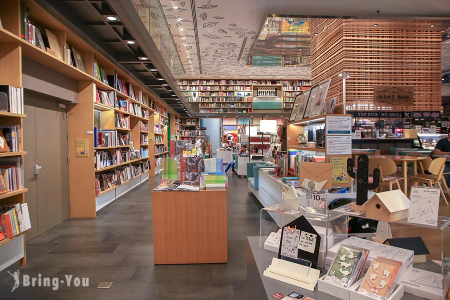 【曼谷】Central Embassy 百貨公司:必逛曼谷版蔦屋書店「Open House 」、逛街美食餐廳攻略