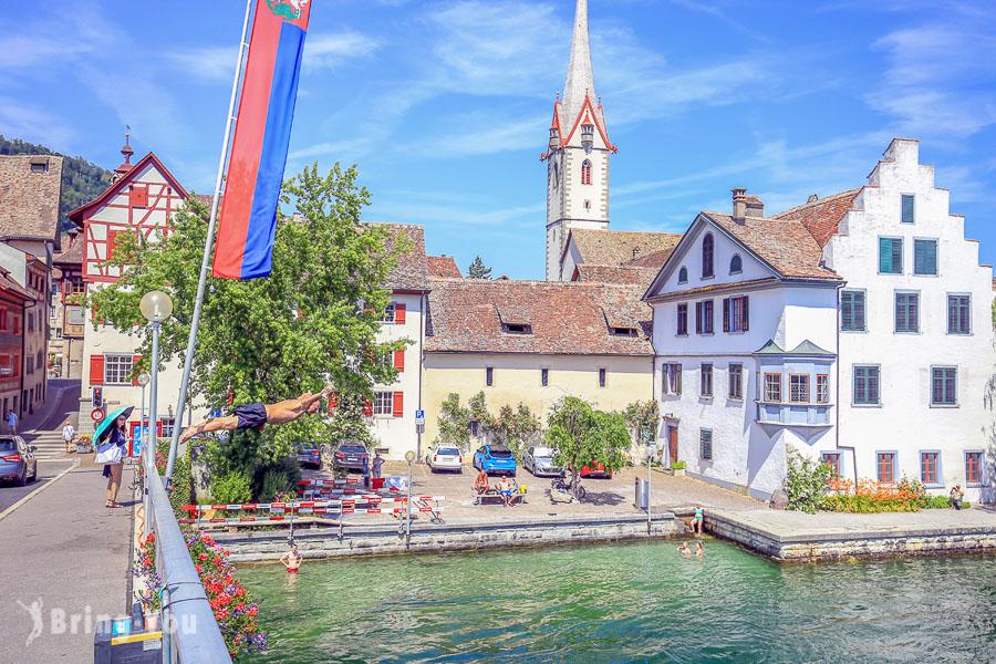 瑞士施泰因景點|Stein am Rhein 一日遊:走遍萊茵河畔中世紀彩繪壁畫小鎮