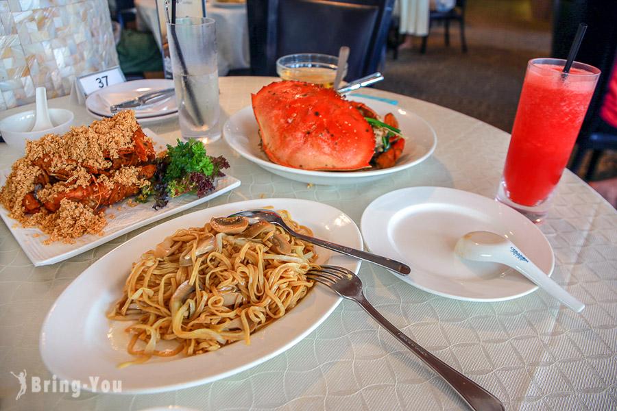 新加坡怡豐城無招牌海鮮餐廳