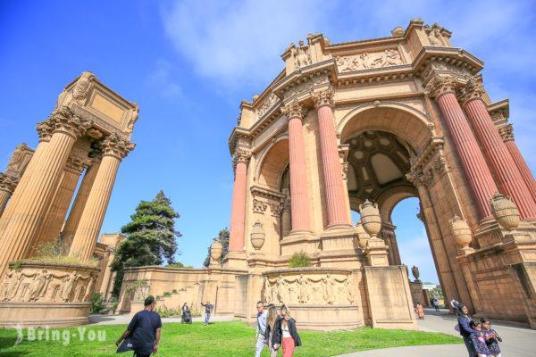 【舊金山金門大橋】藝術宮等附近景點一日遊交通路線攻略