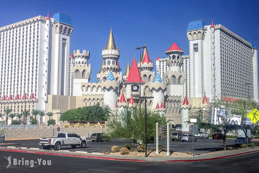 【拉斯維加斯三星級平價住宿】石中劍飯店 Excalibur Hotel & Casino