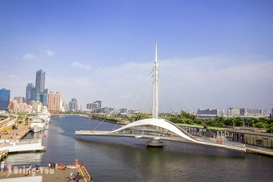 【高雄新景點】大港橋&HOLO Park 映像鹽埕:走訪亞洲最長跨港旋轉橋、復古商店街