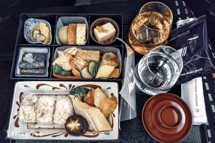 日本航空商務艙飛機餐