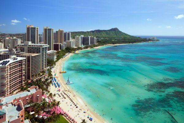 【夏威夷檀香山住宿推薦】歐胡島威基基海灘 Waikiki Bea