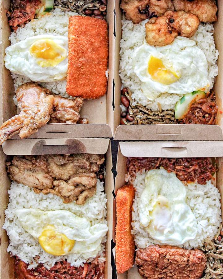 新加坡椰漿飯推薦Changi Nasi Lemak