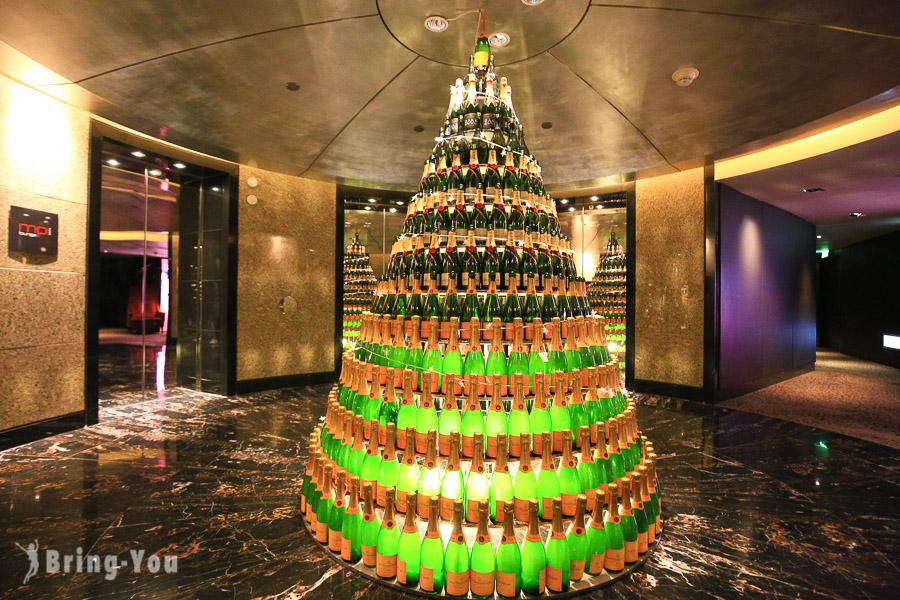 香格里拉台北遠東國際大飯店38樓馬可波羅酒廊傍晚Happy Hours