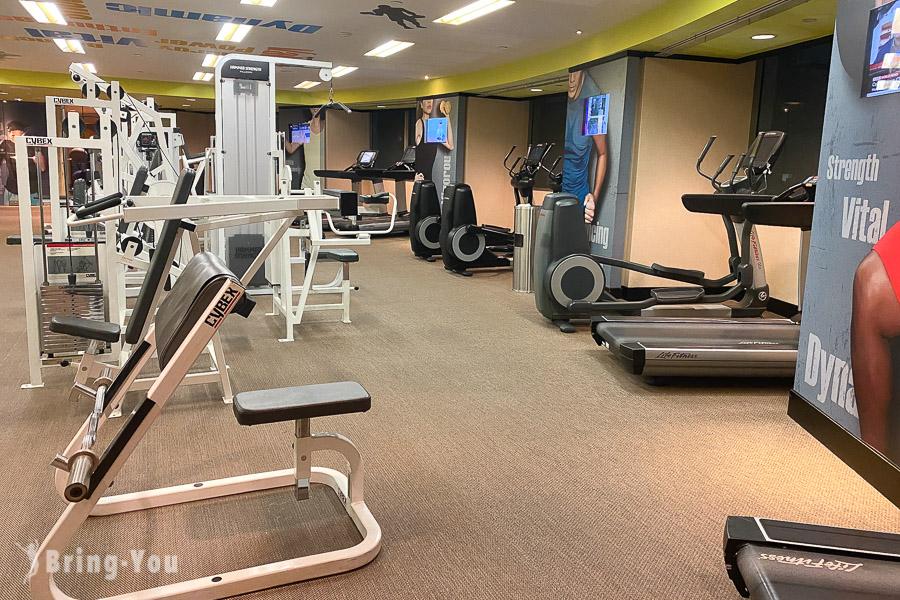 香格里拉台北遠東國際大飯店健身房