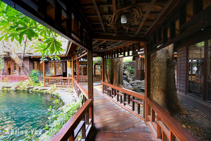 【台中景觀餐廳推薦】無為草堂人文茶館|城市裡的中式庭園餐廳品味簡餐、下午茶
