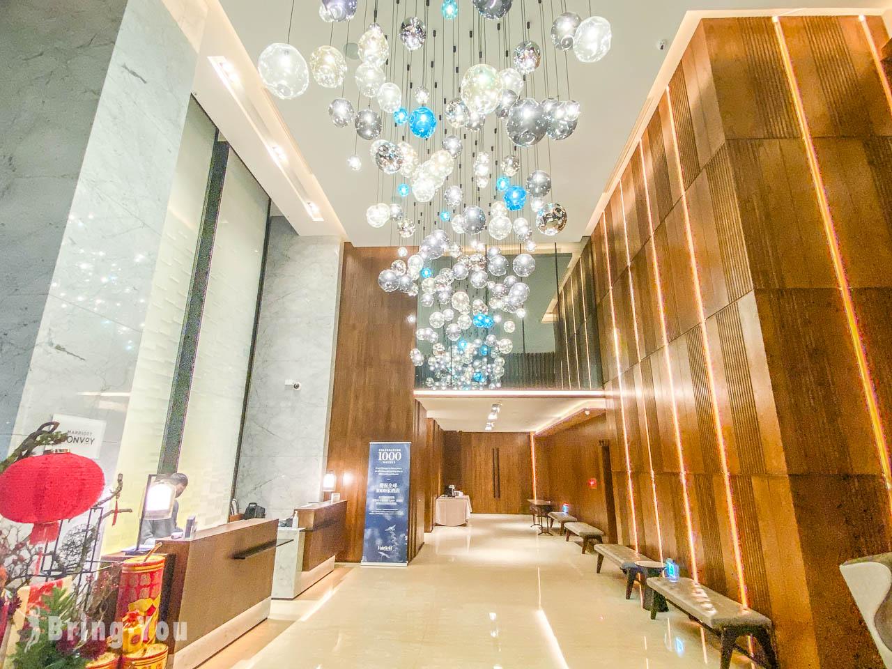 台中萬楓酒店|台中第一家萬豪飯店,逢甲夜市、高鐵站附近商務飯店推薦