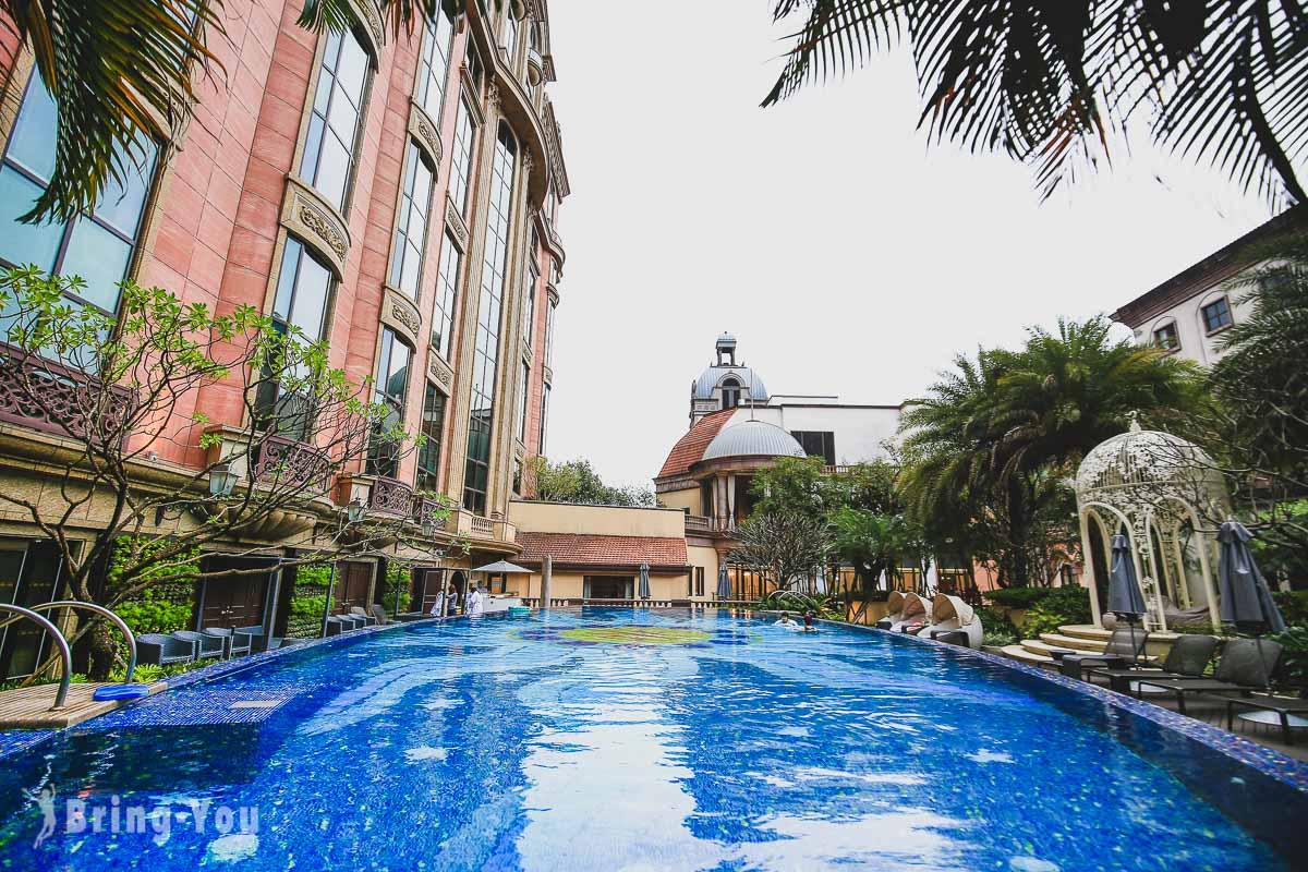 台北文華東方酒店泳池