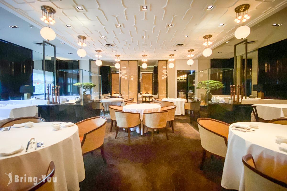 雅閣,台北文華東方酒店中餐廳