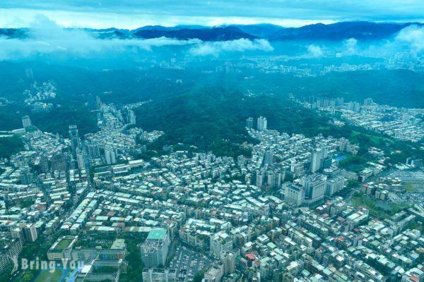 台北101介紹 觀景台門票、登上101層室內觀景區、SKYLIN