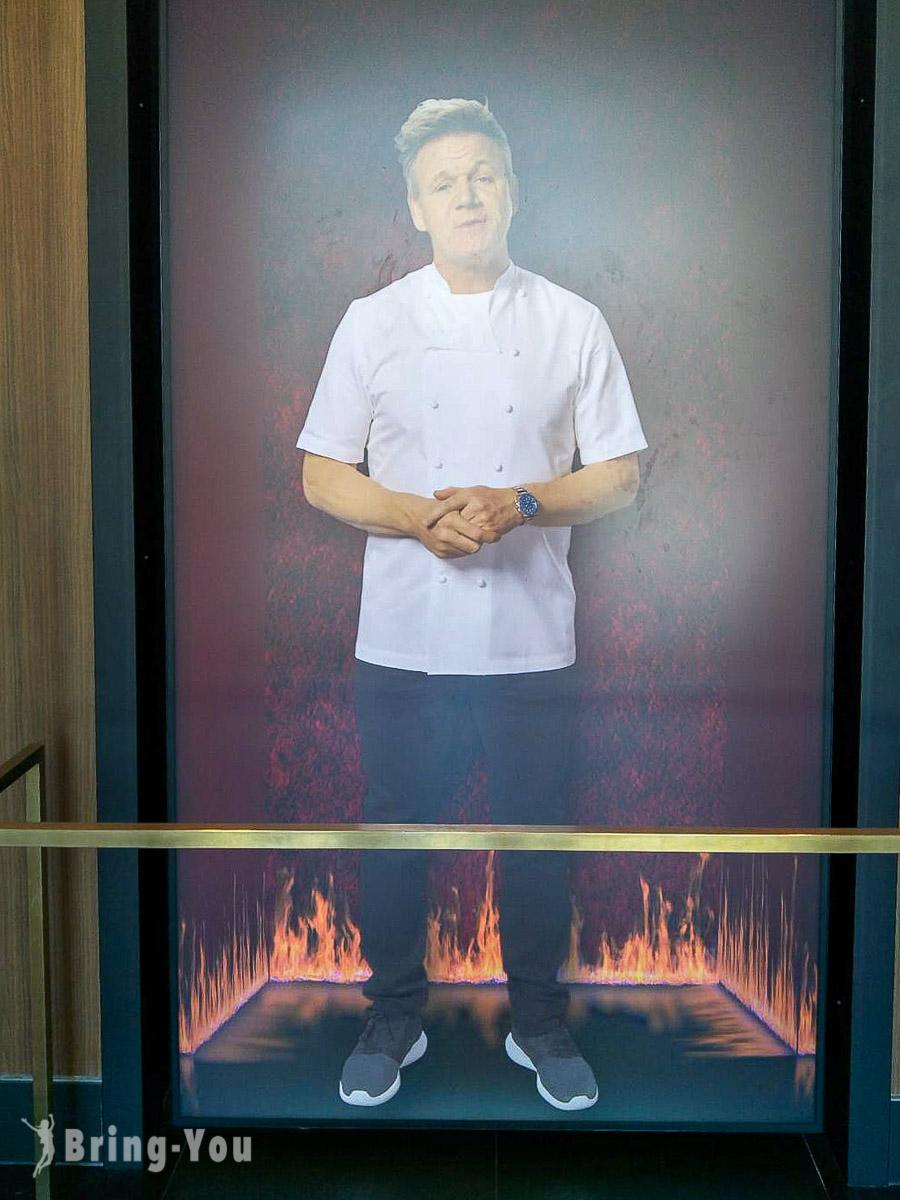 拉斯維加斯地獄廚房旗艦店