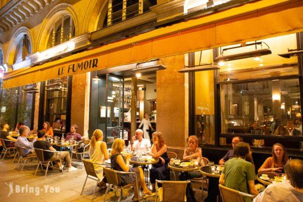 【羅浮宮附近餐廳】Le Fumoir:可以交換書的書香沙龍