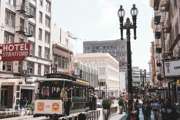 【舊金山叮噹車之旅】Cable Car路線介紹、九曲花巷等沿途推