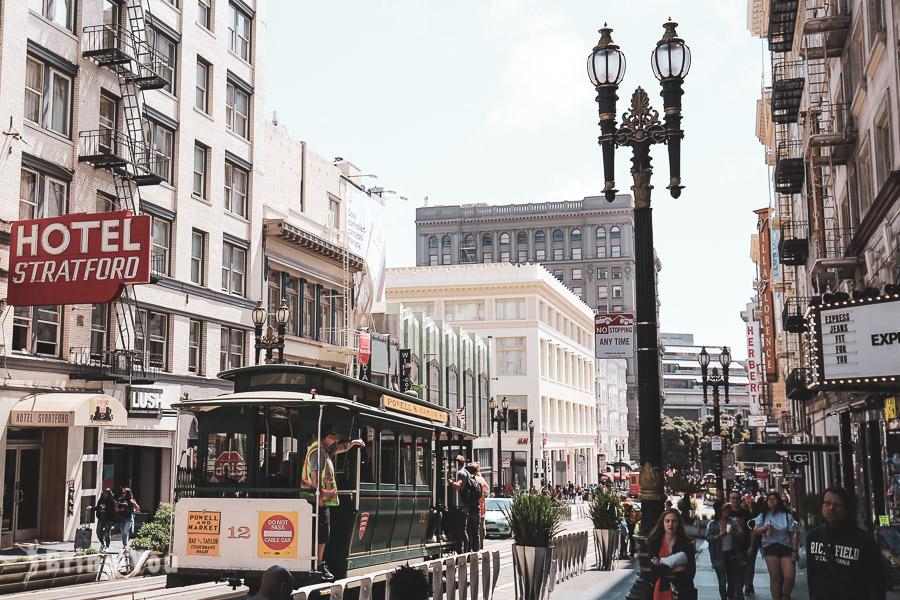 【舊金山叮噹車之旅】Cable Car路線介紹、九曲花巷等沿途推薦景點、APP買車票折扣攻略