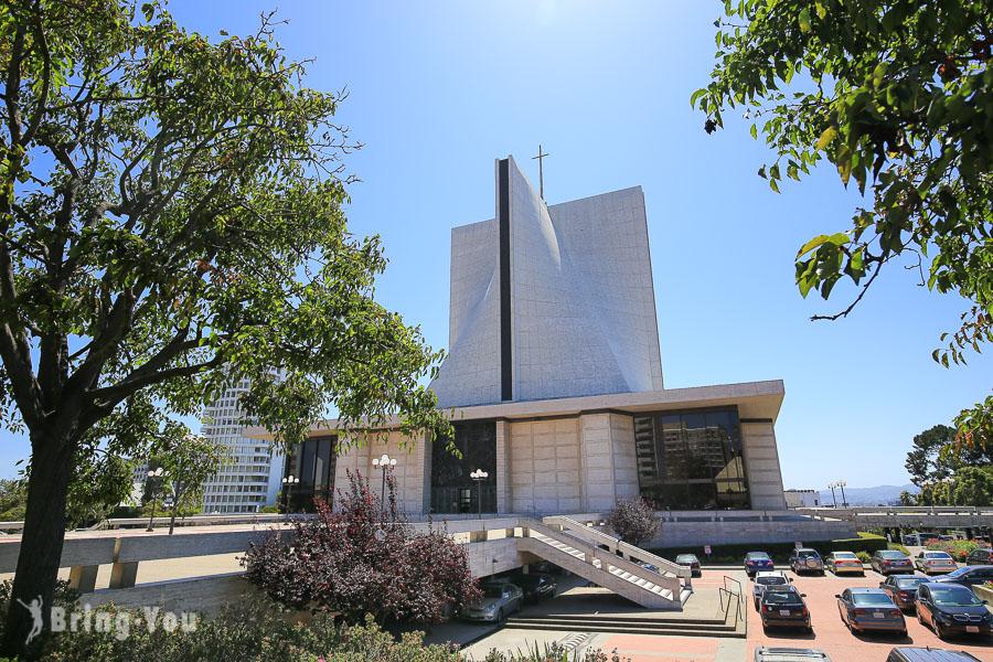 【舊金山日本城】美國三大日本町之一的 Japantown散策,順遊特色聖母升天主教座堂建築