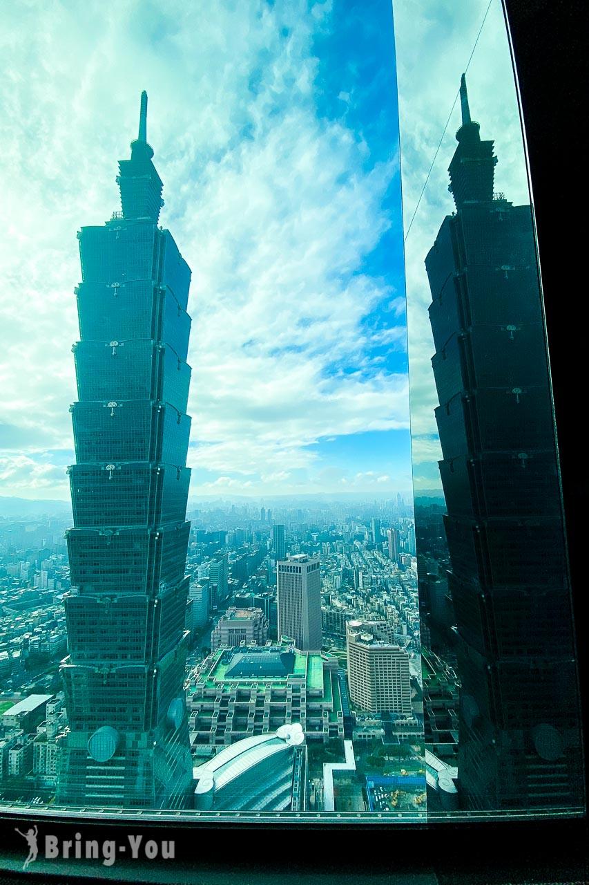 微風南山和牛47,台北101窗景
