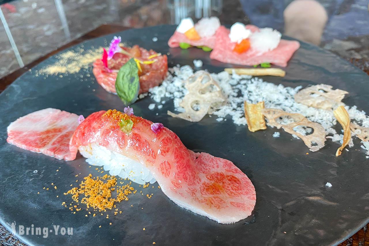 【台北信義區景觀餐廳推薦】和牛47:台灣最高和牛燒肉懷石料理就在微風南山